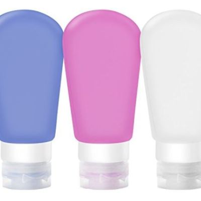 100ml TSA Approved Carry On Refillable Containers Set of 3