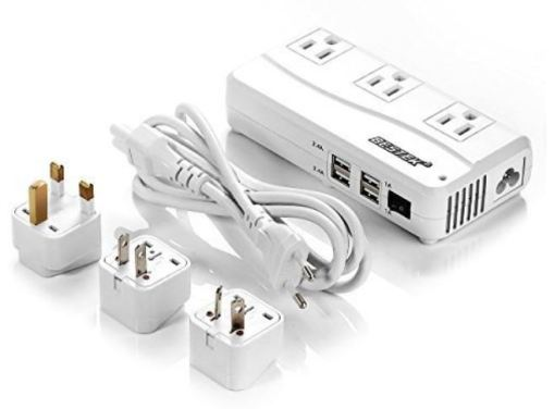 Bestek Universal Travel Adapter & Voltage Converter
