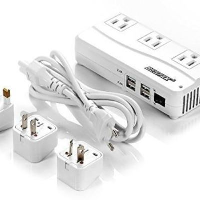 Bestek Universal Travel Adapter & Voltage Converter