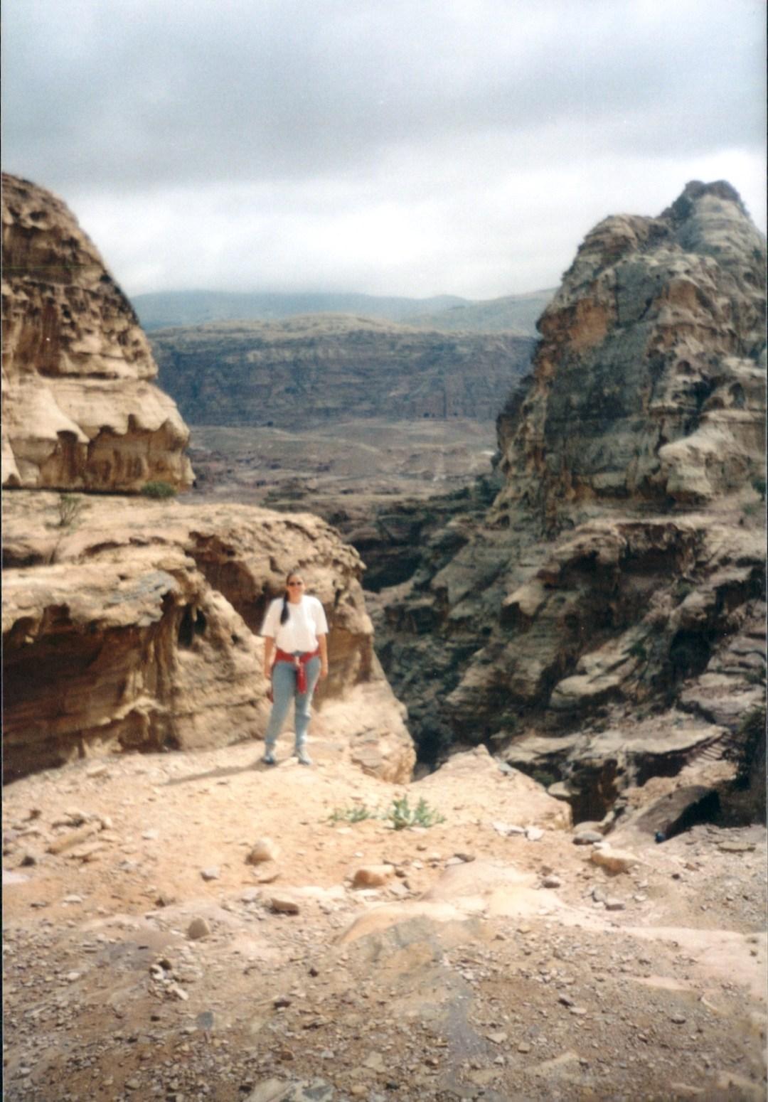 CJ Hiking to Ad Deir