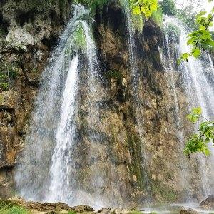 Waterfall Plitvice Lakes National Park Croatia