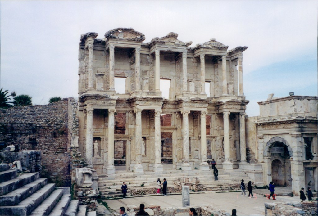Library of Celsus, Ephesus, Turkey Jan 2000