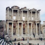 Library of Celsus, Ephesus, Turkey Jan 2000