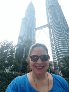 Petronas Towers Selfie Kuala Lumpur, Malaysia