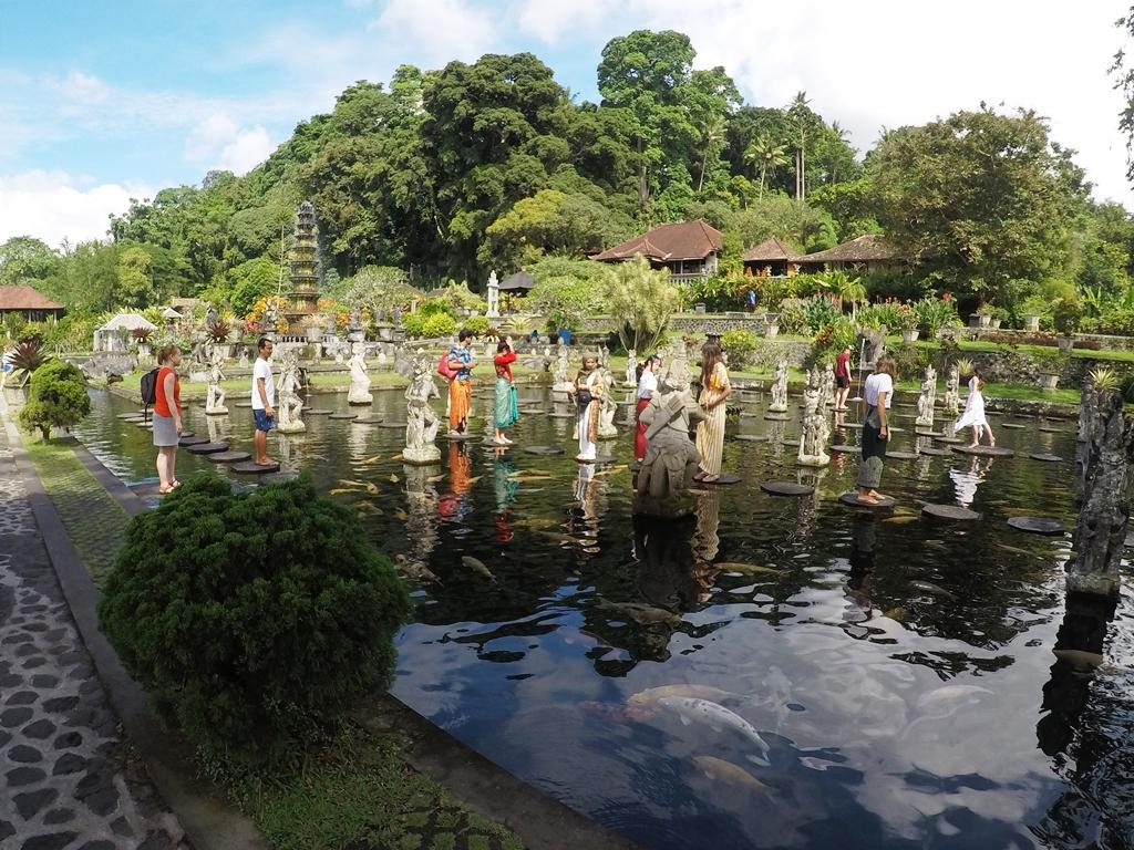 Tirtaganga Water Palace Bali, Indonesia