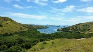View of Harbor, Rinca Island, Indonesia
