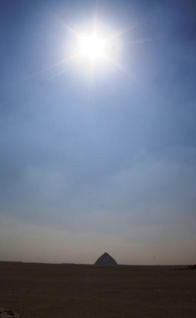 Bent Pyramid at Noon Dashur, Egypt