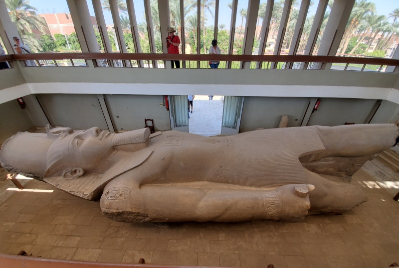 Statue of Ramesses II at Memphis Egypt