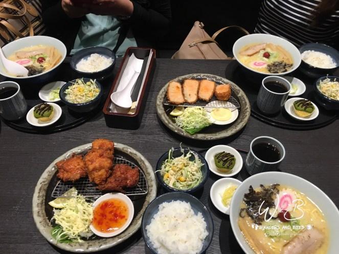 Hokkaido Ramen Santouka Set Meal