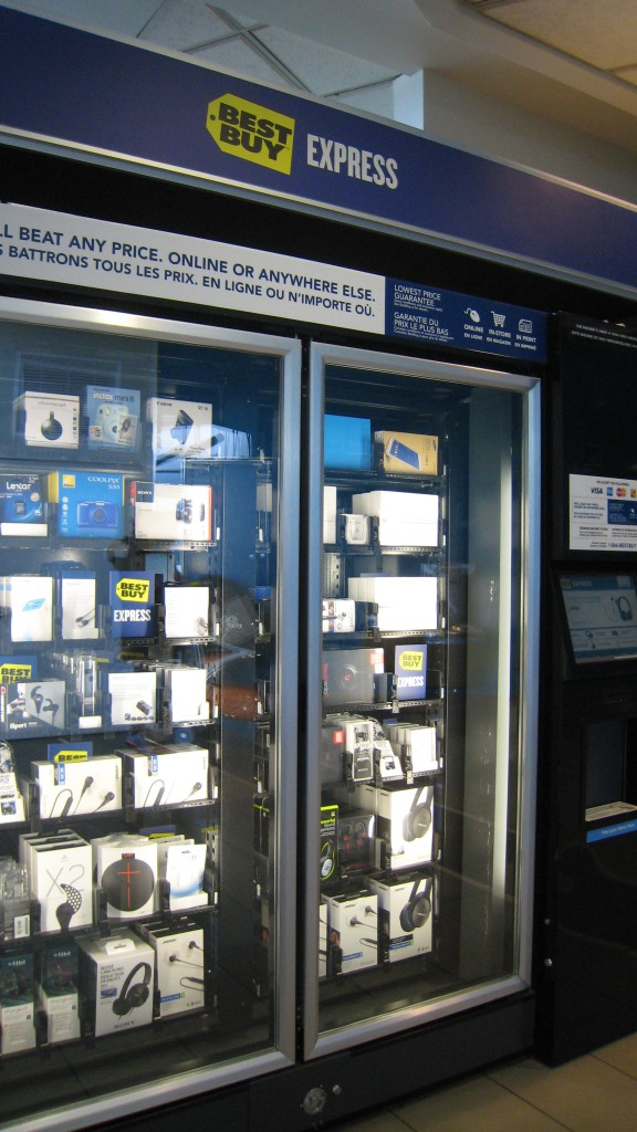 Electonics Vending Machine