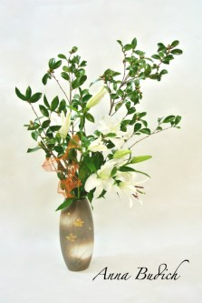 Ikebana in memory of the departed