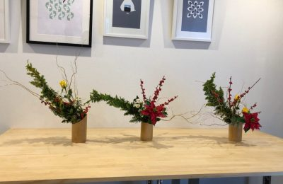 Celebrations in Ikebana at Best Living Japan Class