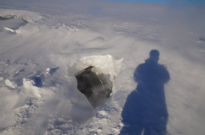The Entrance to the Ice Cave