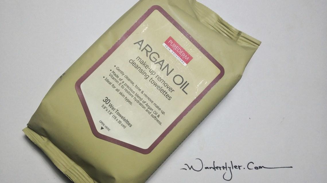 The Purederm Argan Oil Towelettes