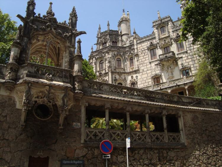 Palaces in Sintra, Portugal
