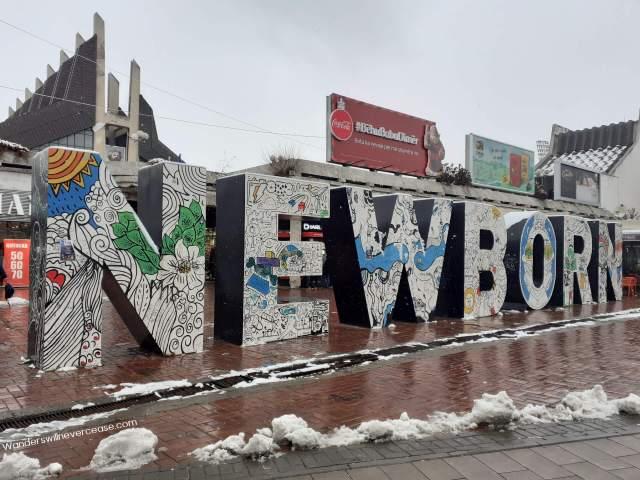 newborn monument pristina kosovo