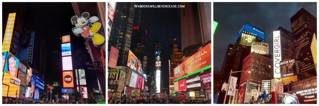 Times Square Night New York