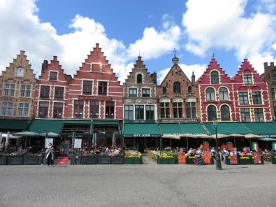 The iconic view in Brugge Centrum