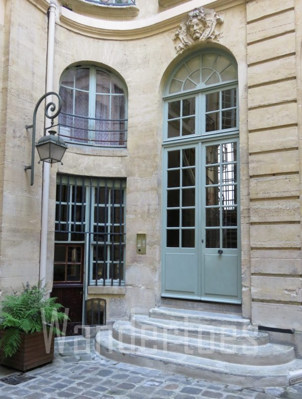 ParisGreenCourtyardDoor Watermark