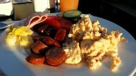 Breakfast from buffet