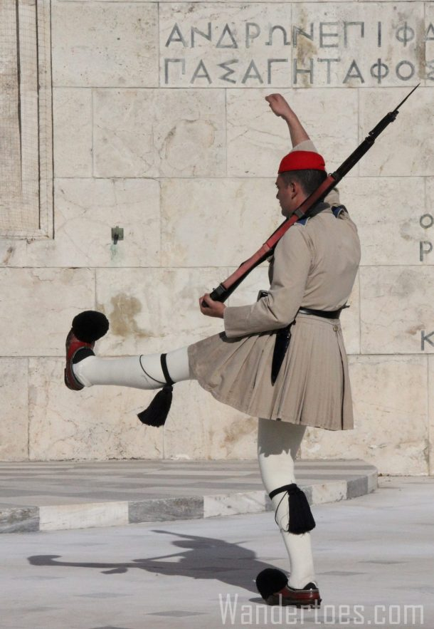 Changing of the Guard, Athens - Wandertoes