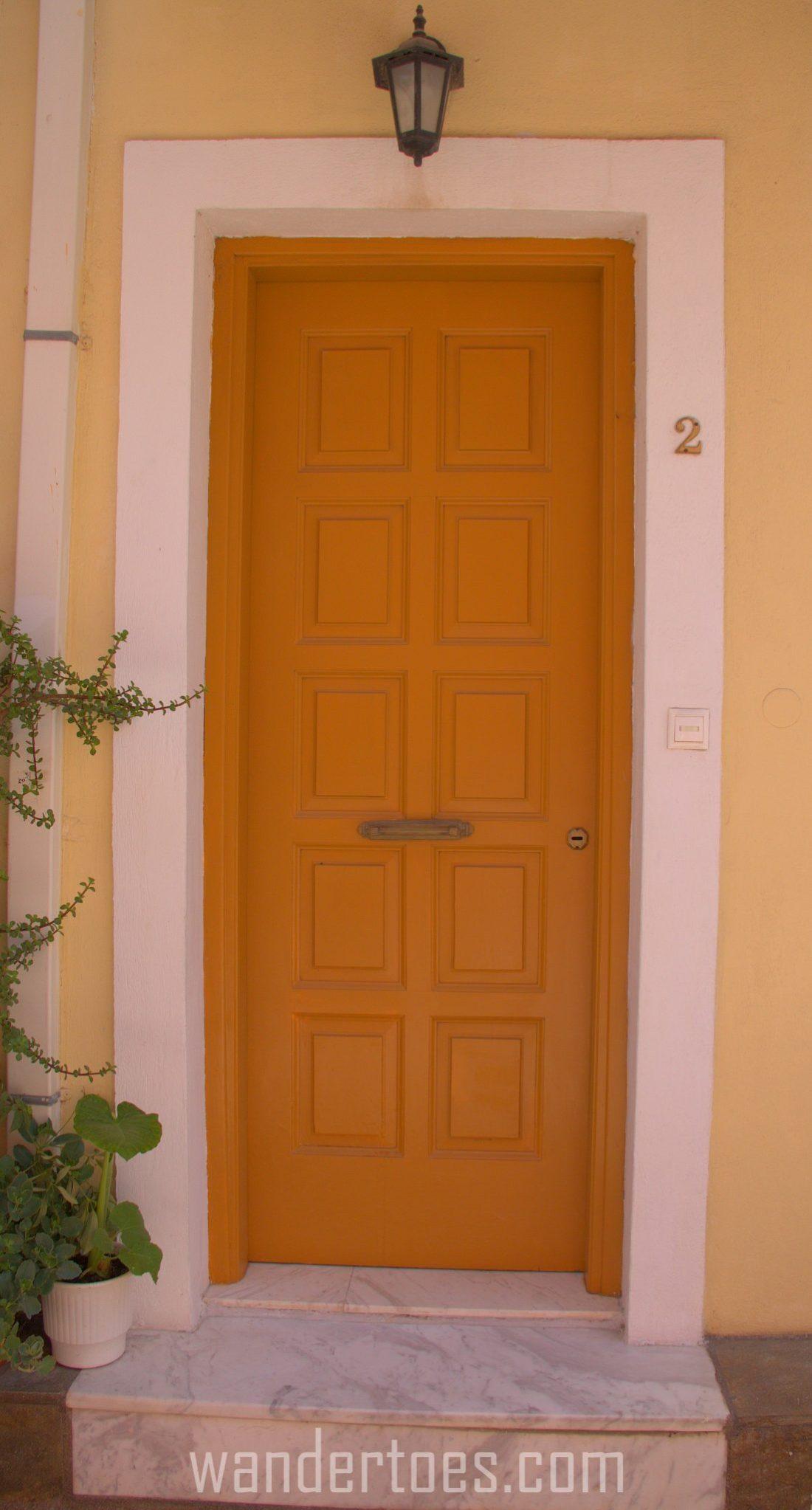 WarmYellow Door