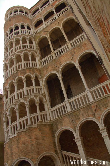 Scala Contarini del Bovolo exterior photo Hidden Gem of Venice Italy