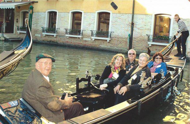 Gondola Tour Venice Italy