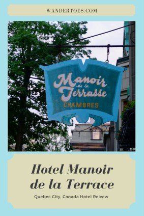 Hotel Review Manoir de la Terrasse Quebec City Canada
