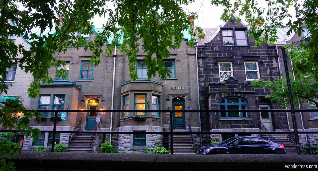 Front view of Manoir de la Terrasse Quebec City Canada Review