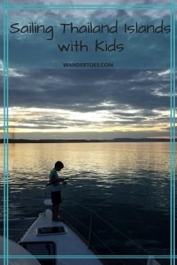 Sailing Thailand Island with Kids