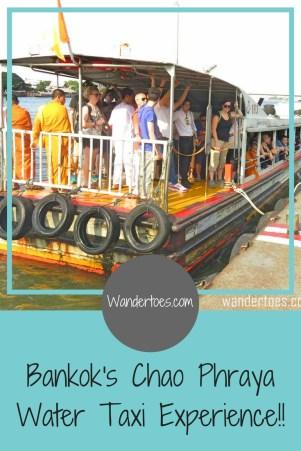 Bangkok Chao Phraya Water Taxi