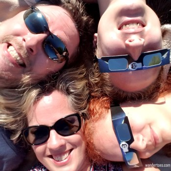 More Family Photo Fun. Eclipse 2017 totality photos