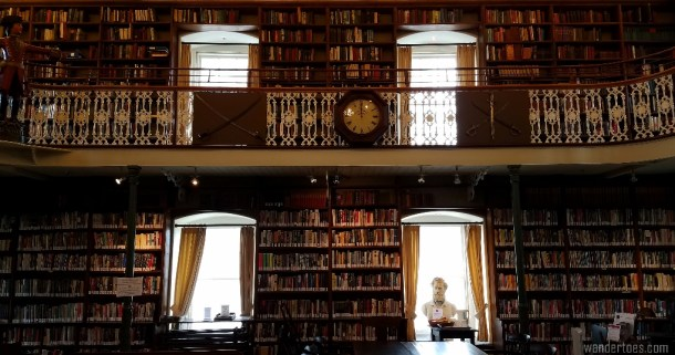 English language library, Quebec City, Morrin Centre