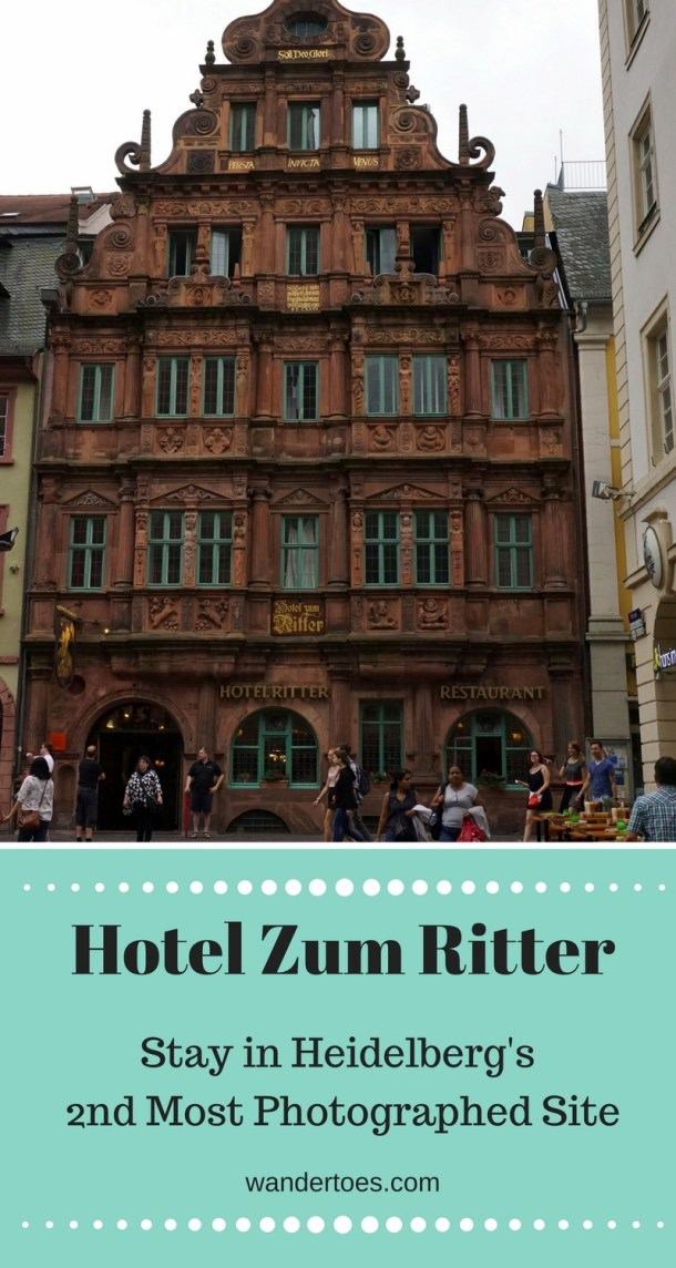 Heidelberg, Germany: 2nd most photographed site is historic Hotel Zum Ritter St Georg!