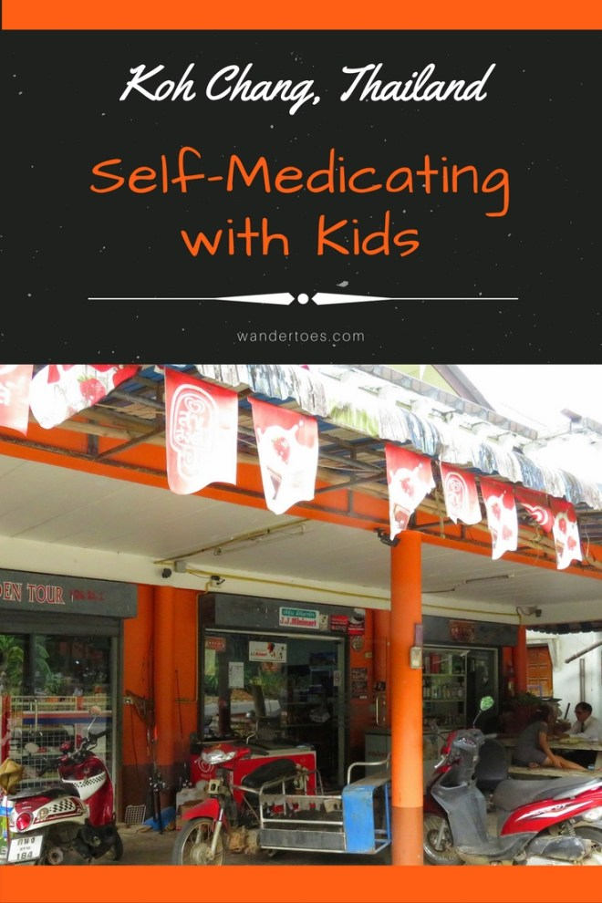 Koh Chang, Thailand: Sunburn, swelling, and finding a pharmacy.