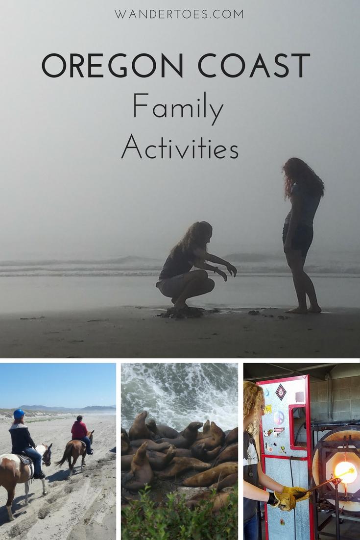 Top Oregon Coast Family Activities
