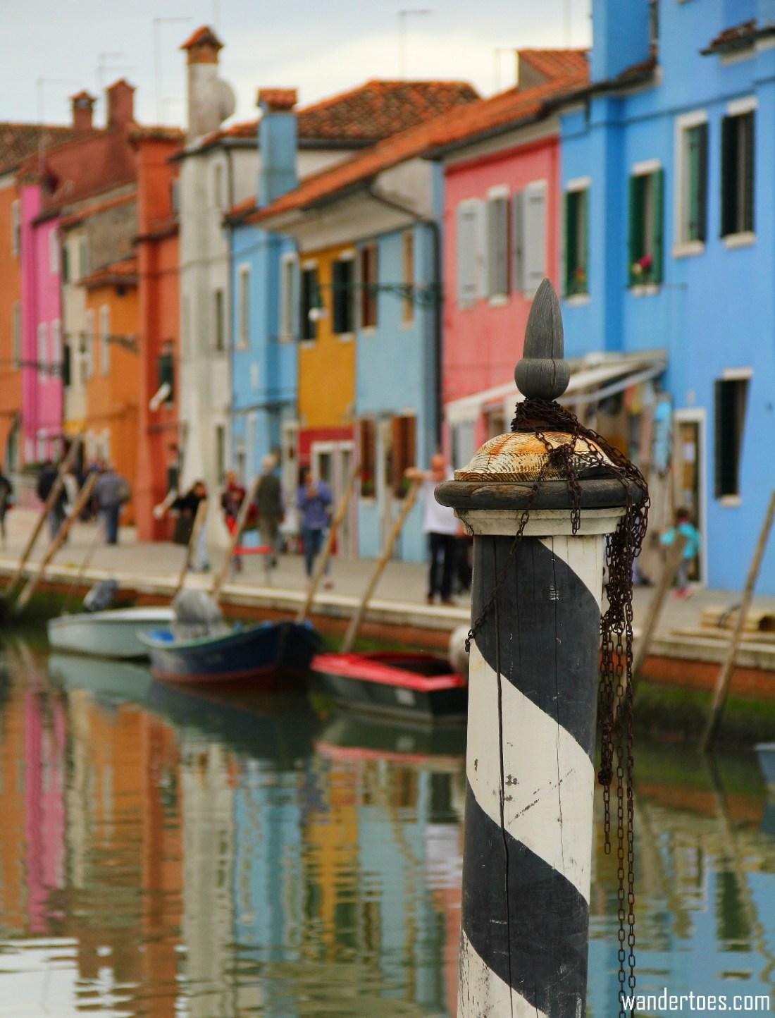 Burano Island for Travel Photography