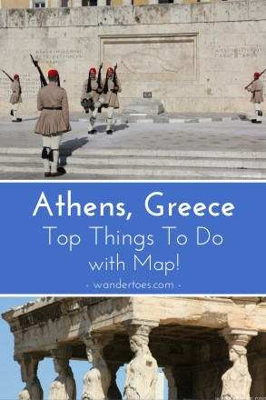Athens, Greece: Map of Top Sights including Ancient Ruins, Shopping, Eating, and more!  Map of Athens Ruins | Athens Shopping Map | Athens Restaurant Map | Plaka Map | #AthensMap #AthensThingsToDo #PlakaMap #PlakaThingsToDo #Acropolis #Evzones #AthensChangingoftheGuard #Caryatids #AthensShopping #PlakaShopping #AthensRestaurants #PlakaRestaurants #PlakaSights #AthensSights