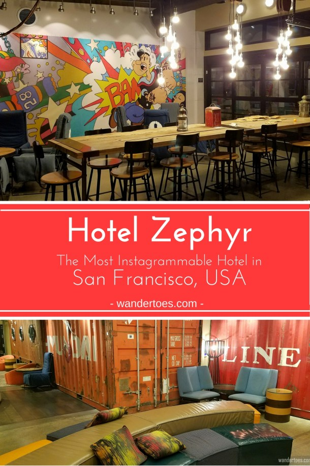 San Francisco, USA: Looking for a funky, instagrammable hotel within steps of Fisherman's Wharf and Pier 39 while you are in San Francisco? Look no further! Check out the wonderfully fun Hotel Zephyr for your next stay! Hotel Zephyr San Francisco, USA | Instagrammable Hotel San Francisco | #HotelZephyr #HotelZephyrSanFrancisco #HotelZephyrSF #HotelZephyrSanFran #SanFrancisco #Hotels #Waterfront #Pier39 #FishermansWharf #FishermansWharfHotel #FunHotelSanFrancisco