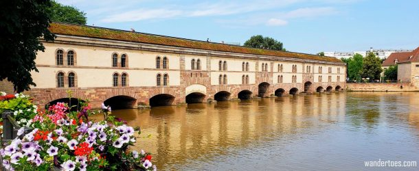 Barrage Vauban & terrasse panoramique | Things to do in Strasbourg France | Strasbourg France Things To Do