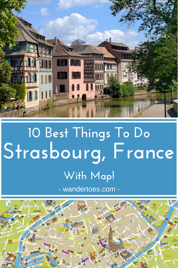 Strasbourg, France: A collection of the Best Things To Do in Strasbourg, France (with map!) to help you plan your unforgettable visit to this beautifully preserved city!  | Things to do in Strasbourg France | Strasbourg France Things To Do | Strasbourg Map | Tourist Walking Map of Strasbourg France