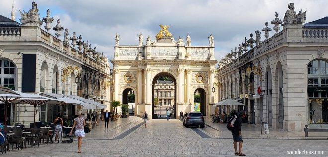 Arc de Triomphe Nancy France | Things to do in Nancy France | Nancy France Map | Nancy France Things to do | Nancy France Points of Interest | UNESCO World Heritage