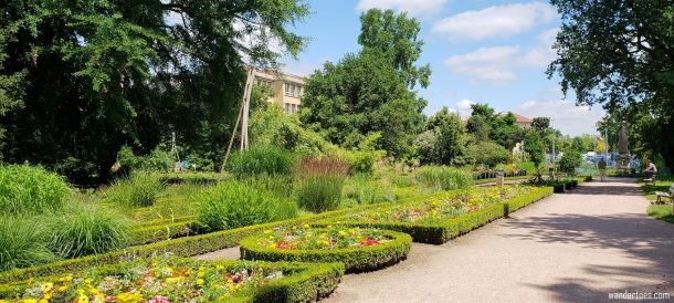 Jardin Godron Nancy France | Jardin Dominique Alexandre Godron | Things to do in Nancy France | Nancy France Map | Nancy France Things to do | Nancy France Points of Interest | UNESCO World Heritage