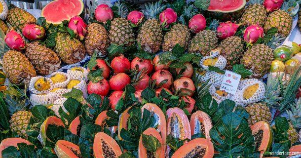 Mercado San Miguel Madrid Food Market Produce