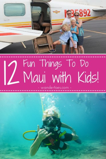 Maui, Hawaii, USA:  Looking to put together a family friendly itinerary for your visit to Maui?  Here's your inspiration and information on some of the most fun things to do in Maui with Kids.