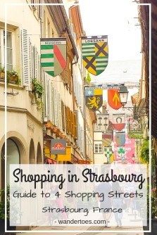 Strasbourg, France:  Strasbourg shopping has something for everyone in the Grand île historic area.  Explore 3 best areas for shopping in Strasbourg and find what you need!