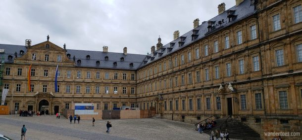 Bamberg Day Trip by Train, Bamberg Neue Residenz, Bamberg New Residence