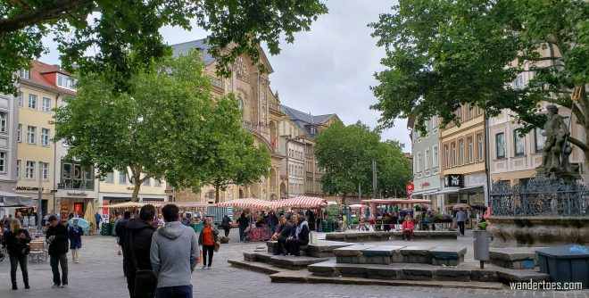 1 day in Bamberg Germany, Bamberg Gruner Markt, Bamberg Green Market