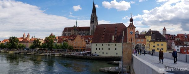 Regensburg Old Stone Bridge View | Day Trips from Nuremberg by Train